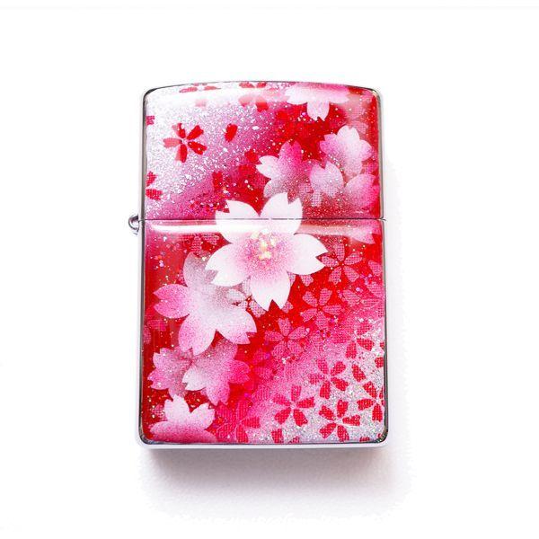 画像1: ZIPPO 紅桜
