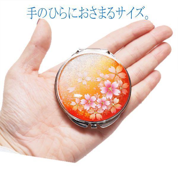 画像5: 丸ミラー 橙桜