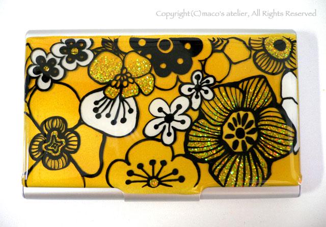 画像1: 名刺ケース flower1