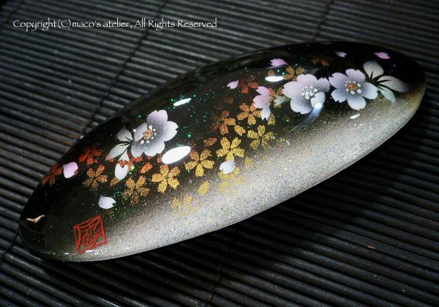 画像1: バレッタ:桜