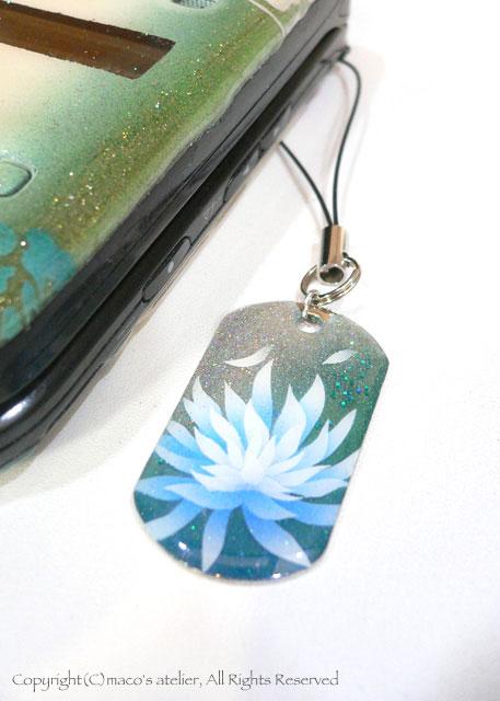 画像1: 水中花 ブルー