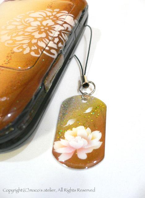 画像1: 牡丹 オレンジ